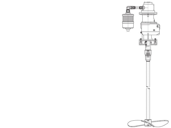 AIR atex drawing Rührwerk Agitator