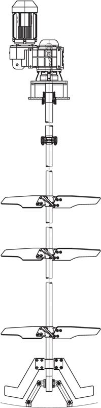 FLMC-8-15 Rührwerk Agitator