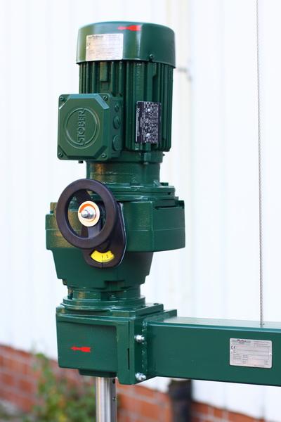 Stativrührwerk Verstellgetriebe